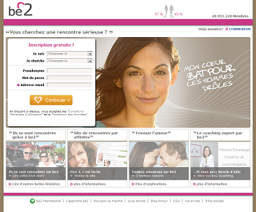 Forum site rencontre be2