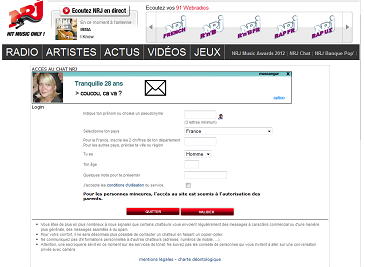 chat nrj gratuit france Stains